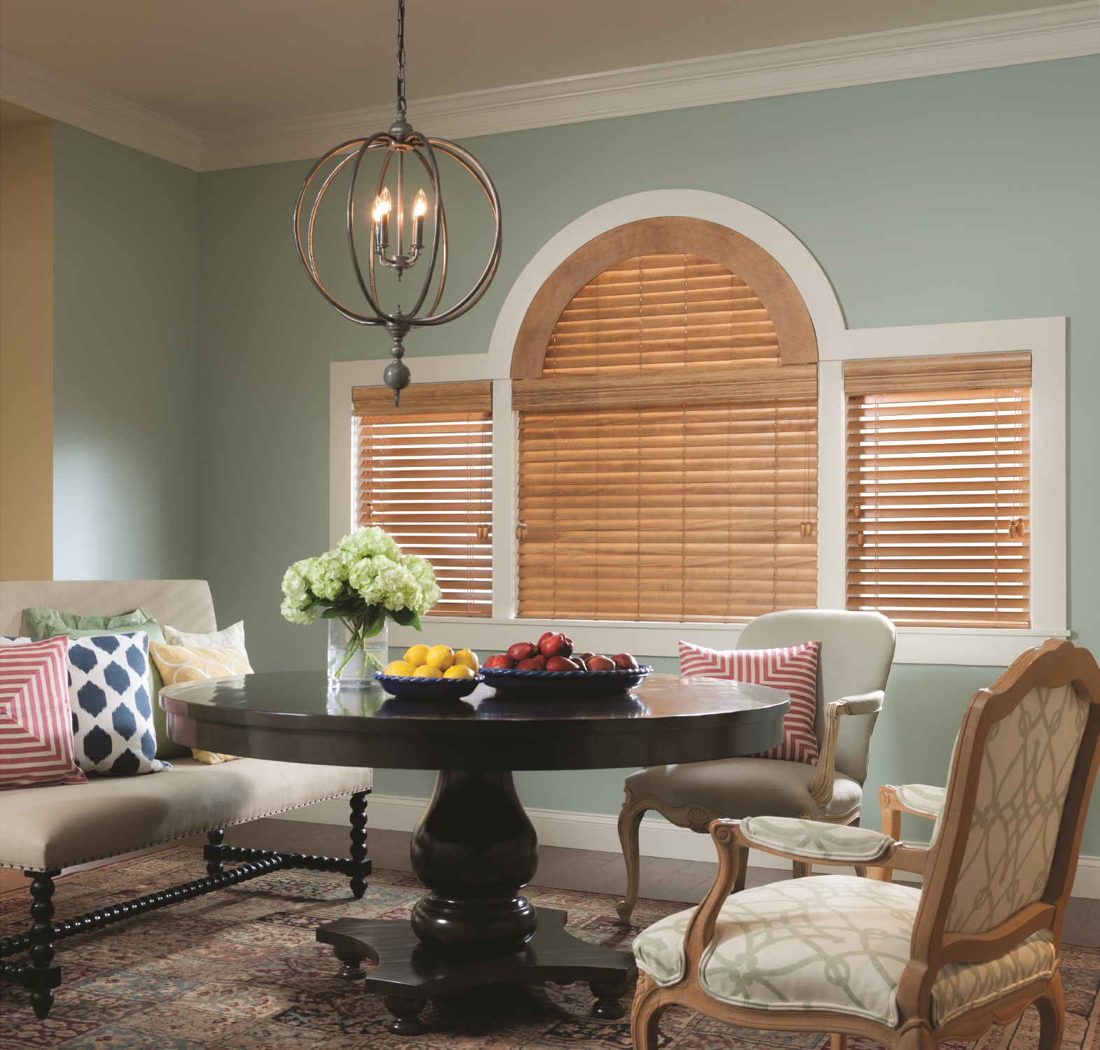 Wood Blinds are an elegant complement to a variety of décor styles, from rustic to ultramodern. They can also take on a wide range of paint and stain colors, offering customization options to enhance one room or an entire home.