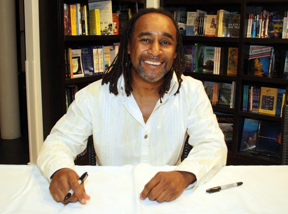 Eric Jerome Dickey at a past book signing.