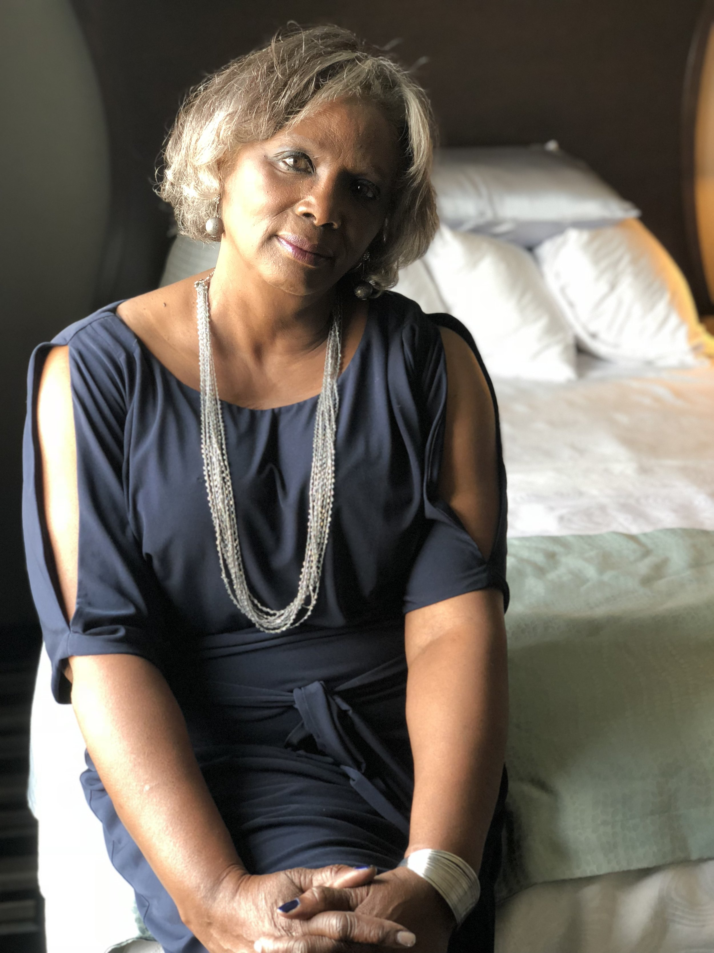 My beautiful mama. She's my main source of love, encouragement, and inspiration. At 66 years old she is proof that you don't get old...you get better.