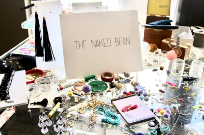 The Naked Bean jewelry design process, photographed by Charlene Kayiza.
