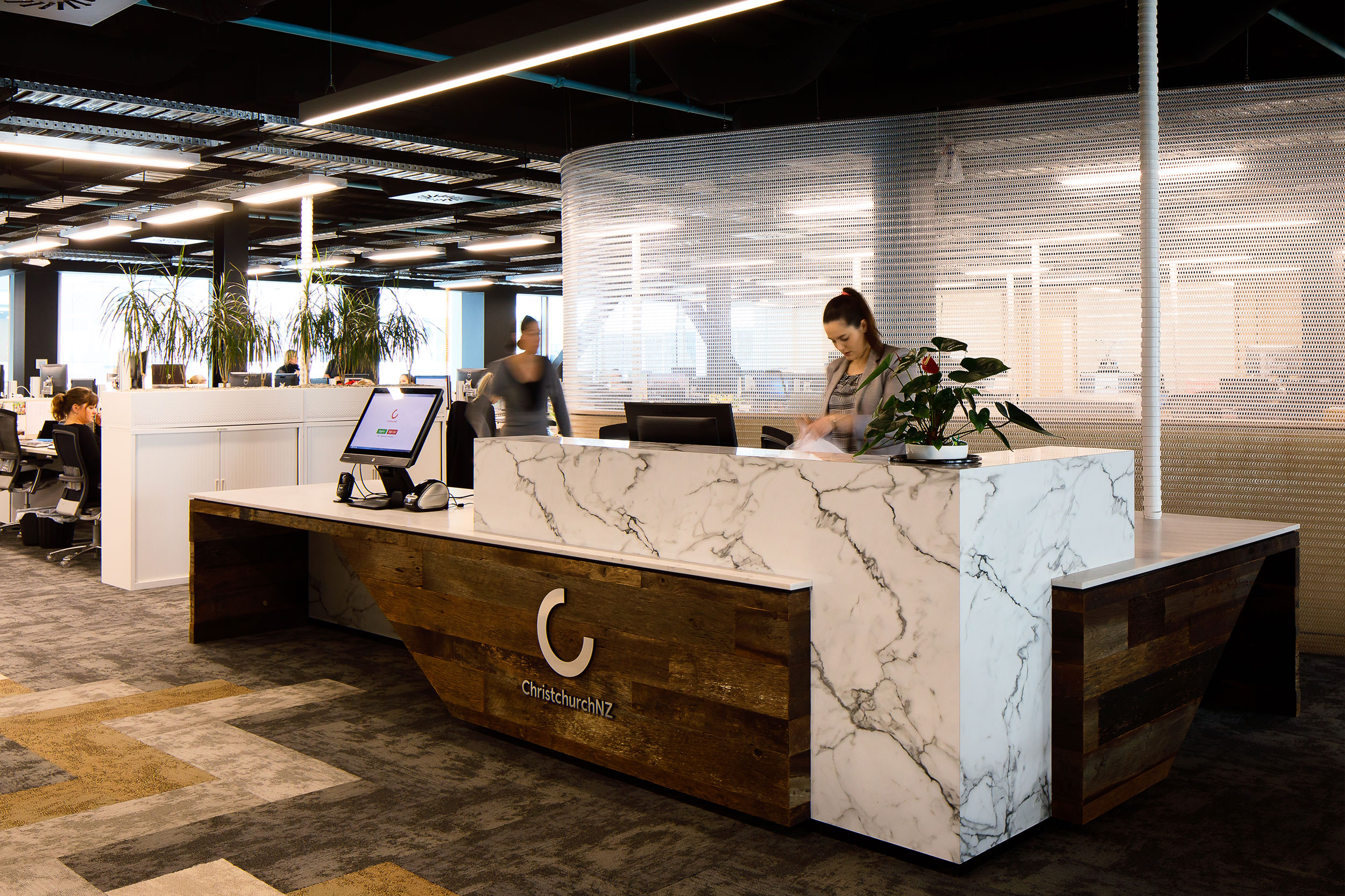 Space Division for New Office Fit-out  Christchurch, New Zealand    Explore →