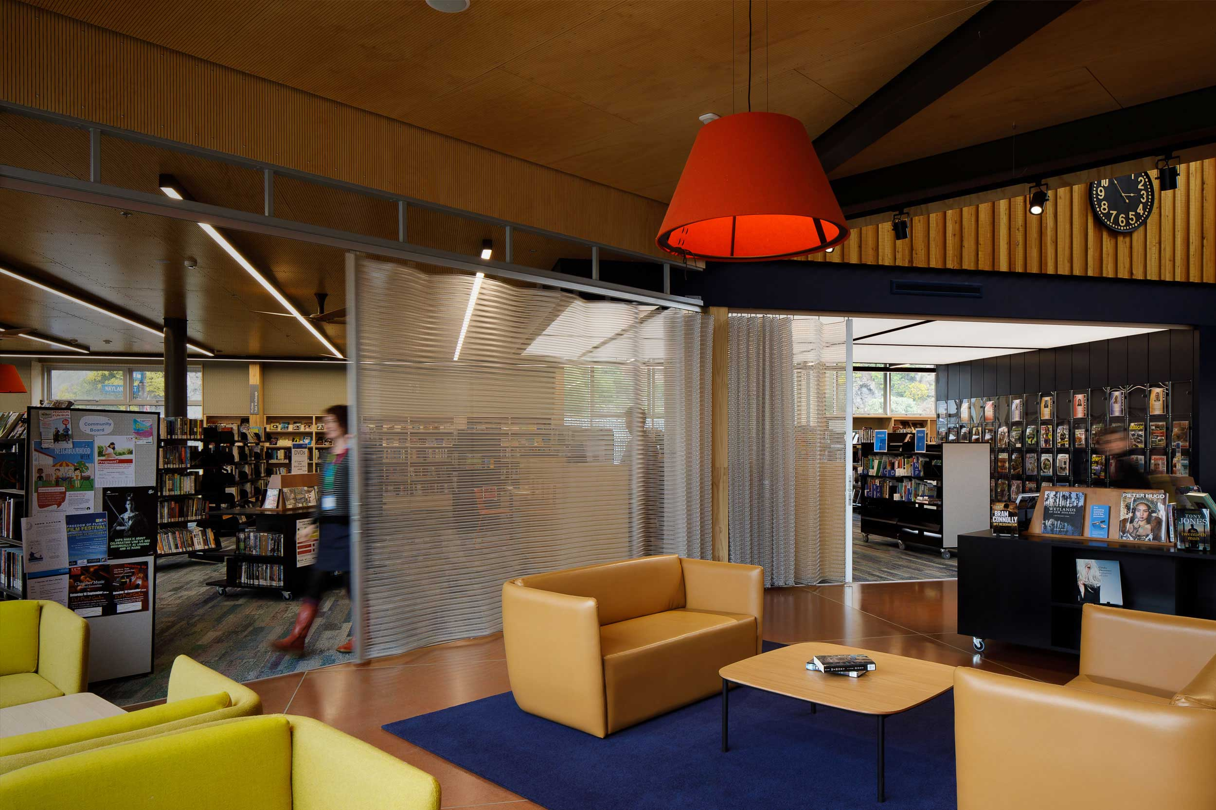 Beautiful Deterrent Screens for Sumner's New Library   Designed by Athfield Architects in Christchurch, the new centre includes re-purposed Kaynemaile mesh previously used in the old Sumner library before the 2011 earthquake. The new folding deterrent screens are used to...  Read more