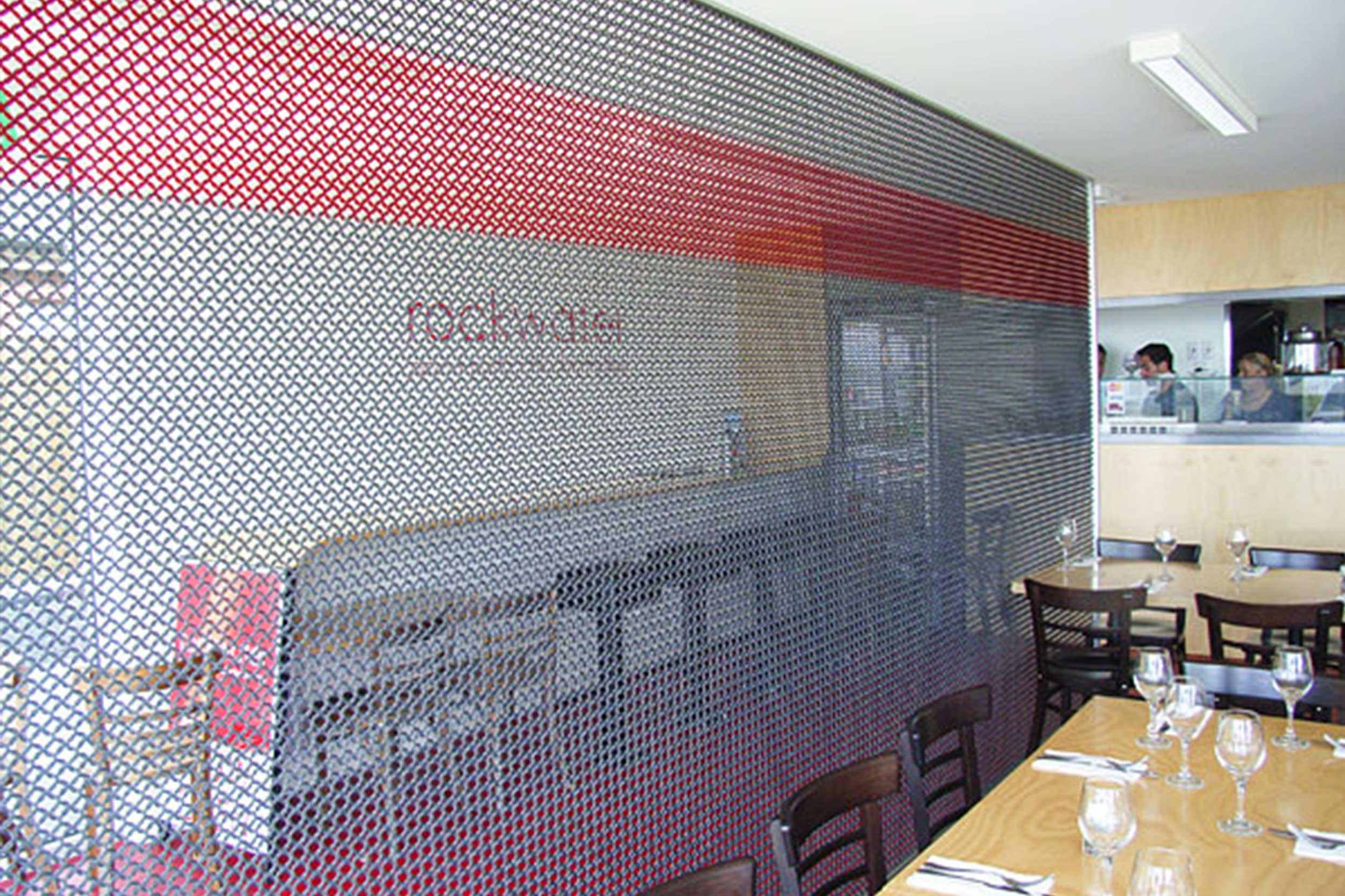 Restaurant Dividing Screen  Rockwater Restaurant, Australia