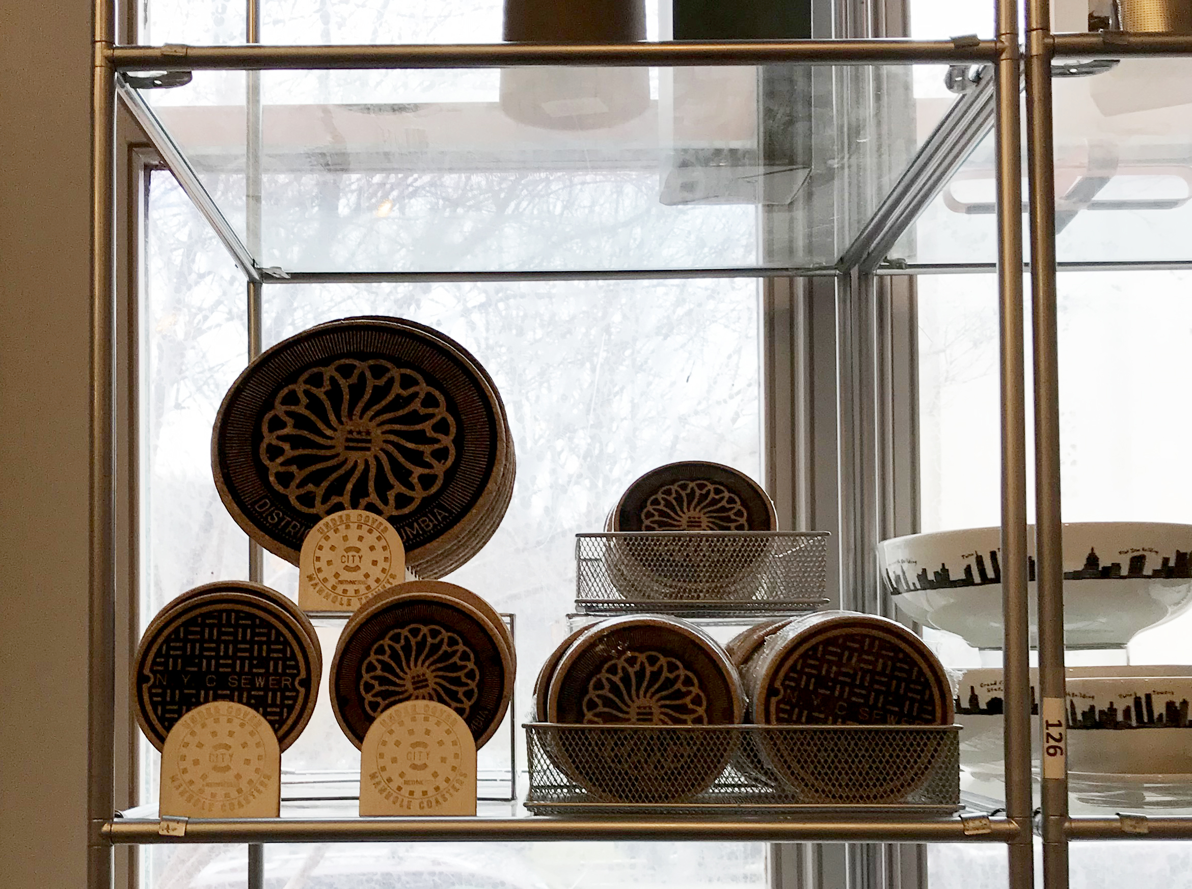 DC Display and trivets now available at the national building museum in washington dc - Take Amtrak down the Northeast Corridor and visit the NBM. The building is one of the four great rooms of DC. Can you name the other three?