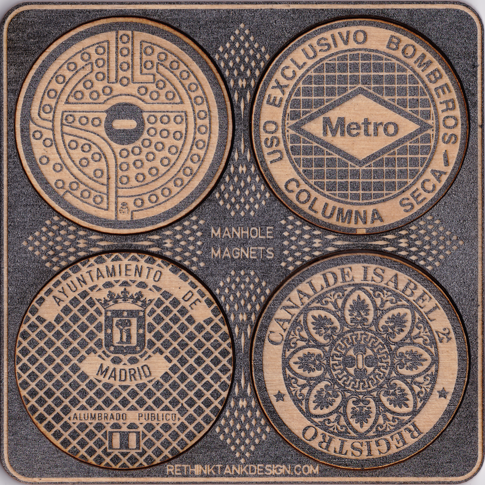 NEW FOR 2019:MANHOLE COVER MAGNETS - COVER THAT INFLATED GRADE WITH PRIDE!