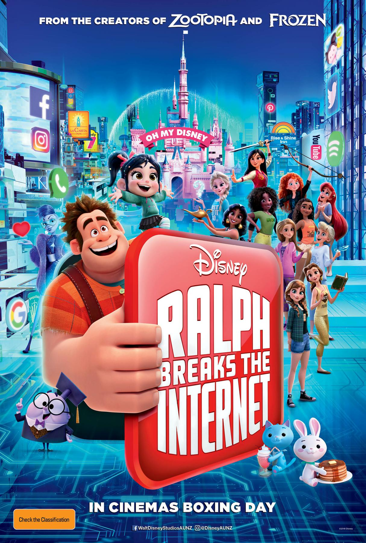 Ralph Breaks The Internet - credit / score mixer assistant
