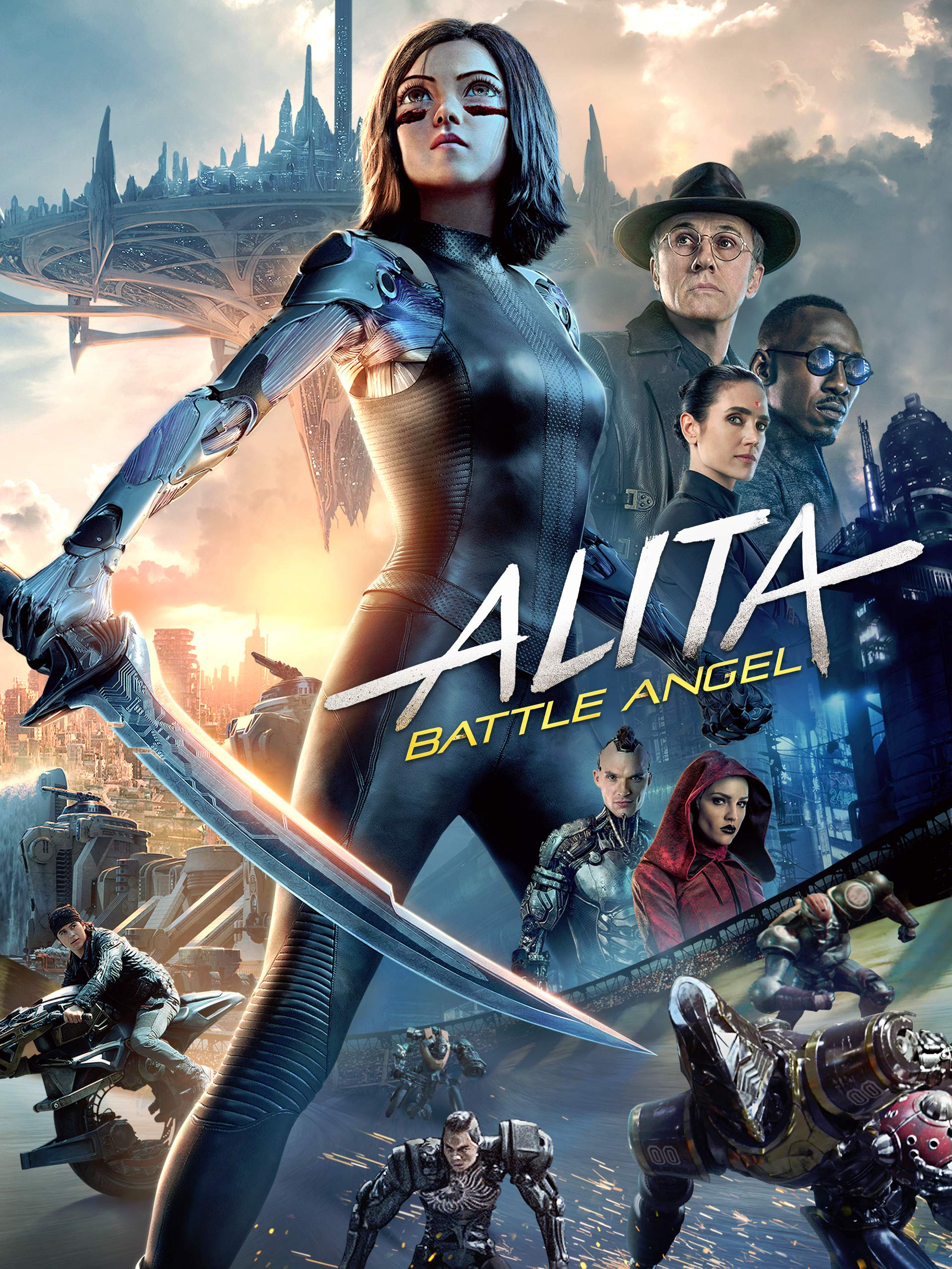 Alita Battle Angel - Credit / score mixer assistant