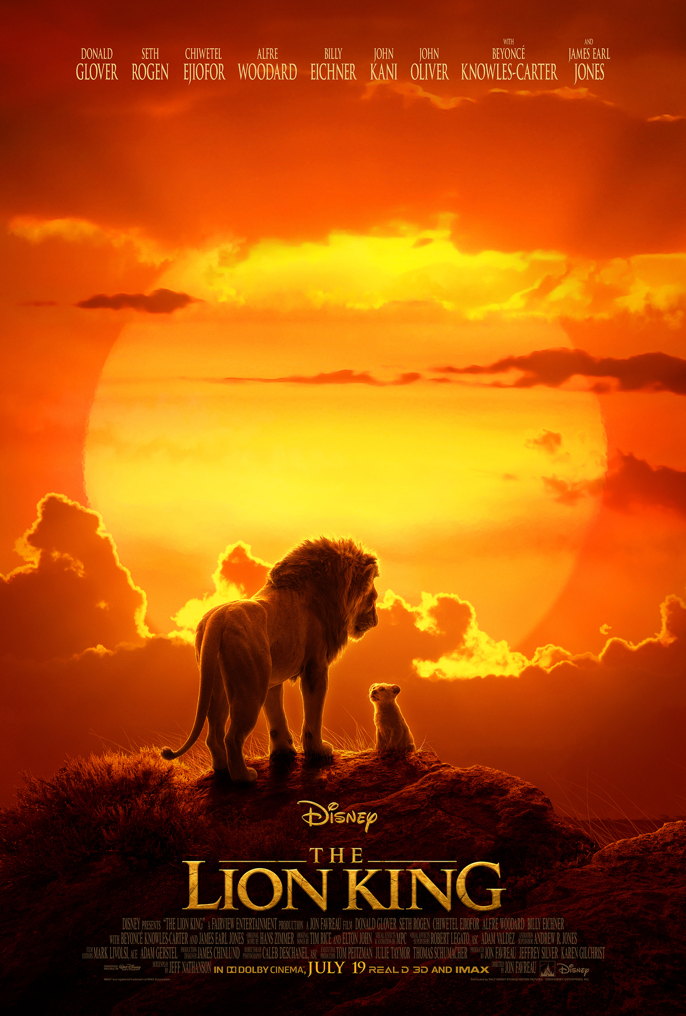 The Lion King (2019) - Credit / Additional Engineering (music)