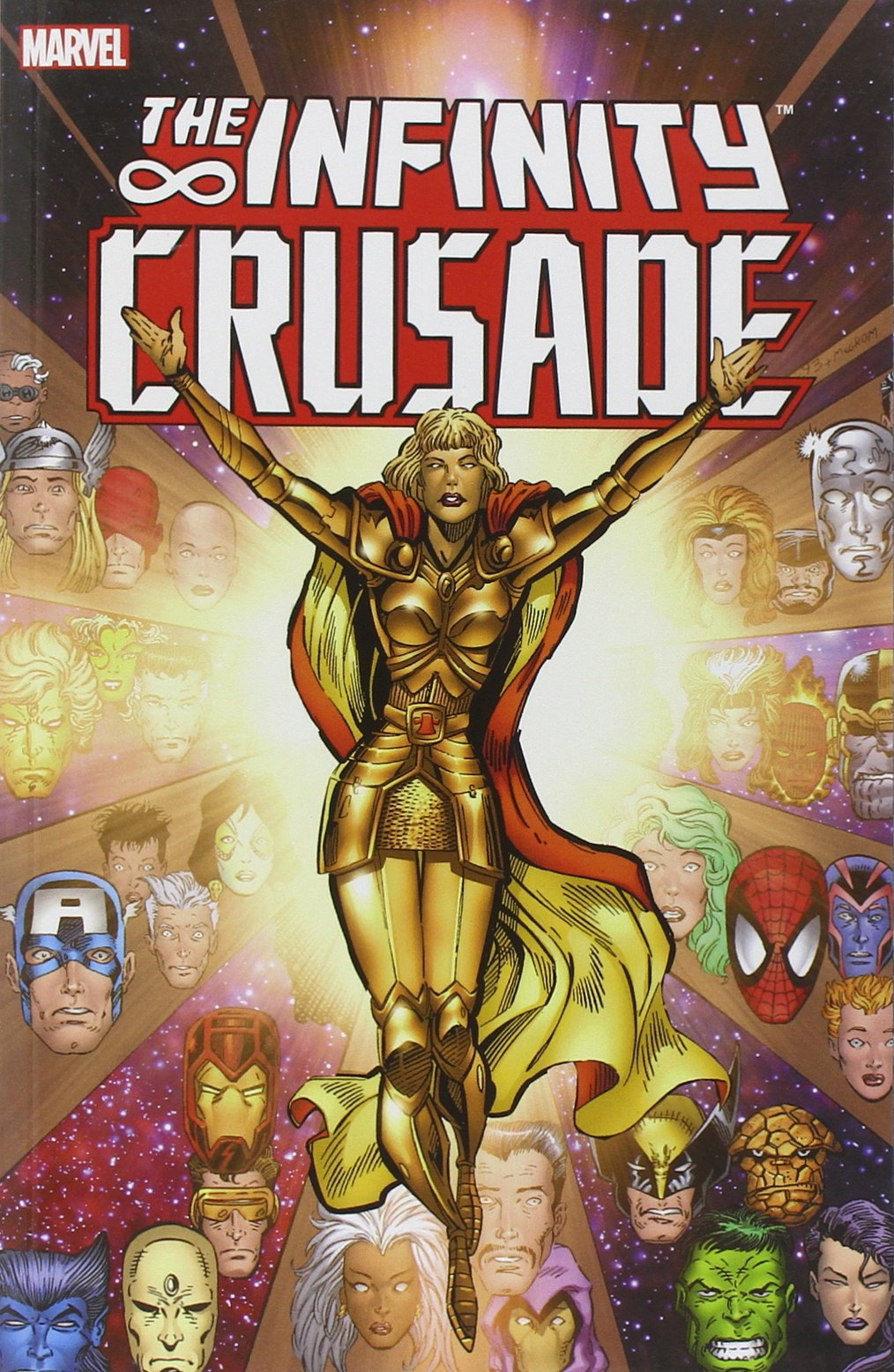 Infinity Crusade: Yes, religion gets brought up. No, not well.