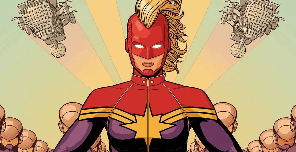 "Carol sometimes wears this ""Mohawk helmet"" in battle, and yes, we will see it in the movie!"