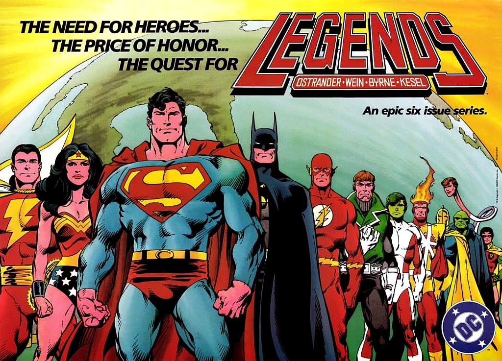 DC Legends. But not of Tomorrow. That's a different team.