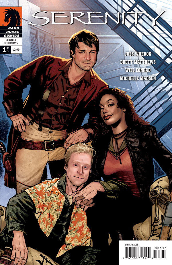 The first issue of the Serenity comics. As you can see, the likenesses are dead on.