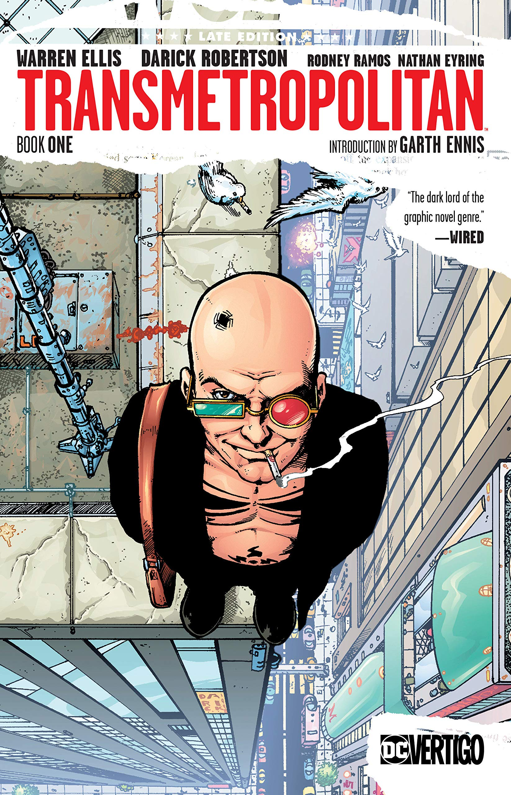 Vertigo: Not just the publishing line, but also the feeling you get looking at this cover.