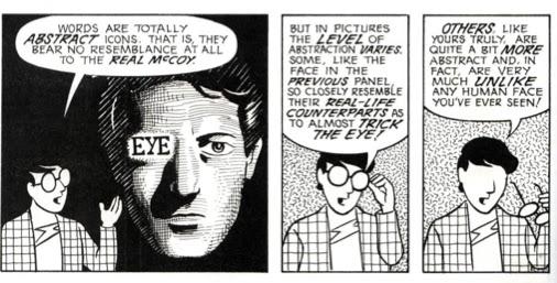 A comic about comics.  Brilliant!