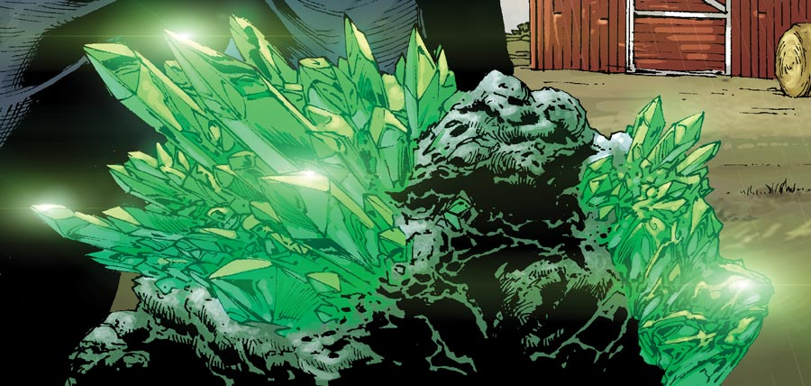 Just your garden variety Green Kryptonite.