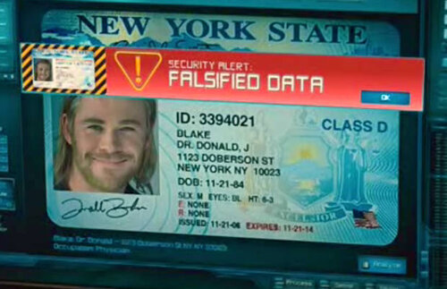 A small Easter egg in the first Thor movie for those who were aware.