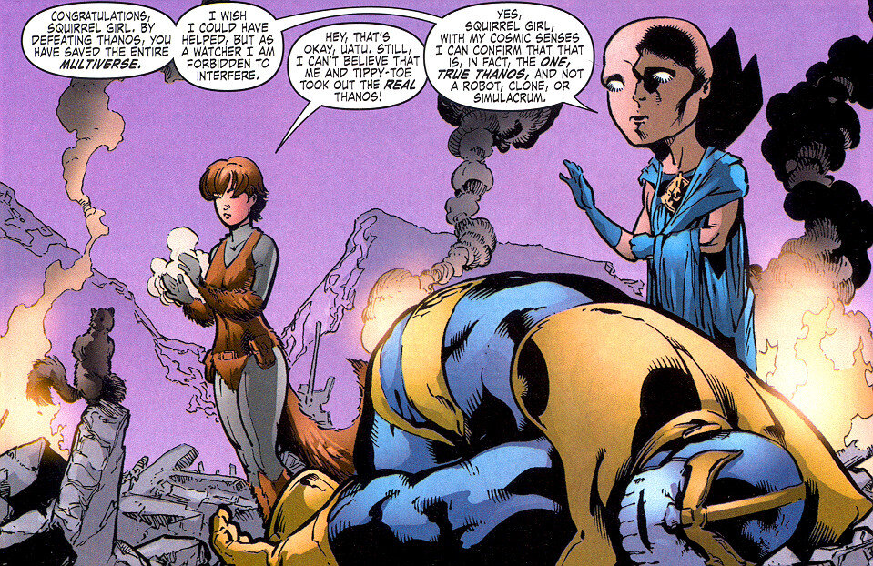 "There's a reason she's called ""The Unbeatable Squirrel Girl."""
