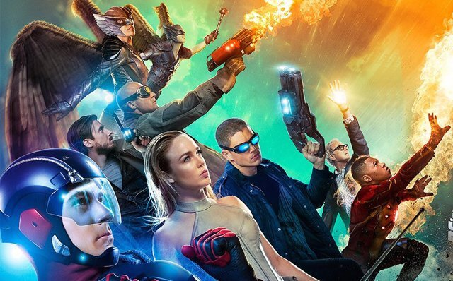 First season's Legends of Tomorrow team.