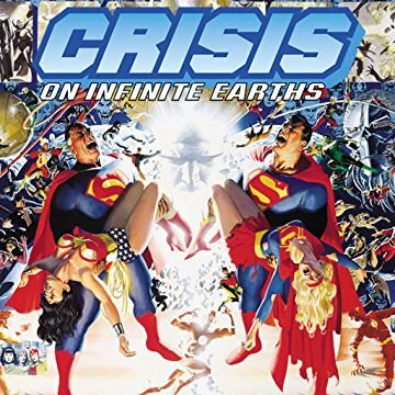 To keep things semi-spoiler free, I'm not including any promo shots from unaired episodes, but here's the cover to the Crisis on Infinite Earths hardcover.