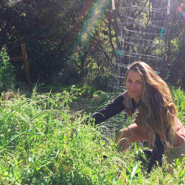 """""""So stoked to be tackling this mountain of weeds 😝. Seriously though, Mendocino county in the springtime is a magical place. Weeds and all. """"  OP ."""