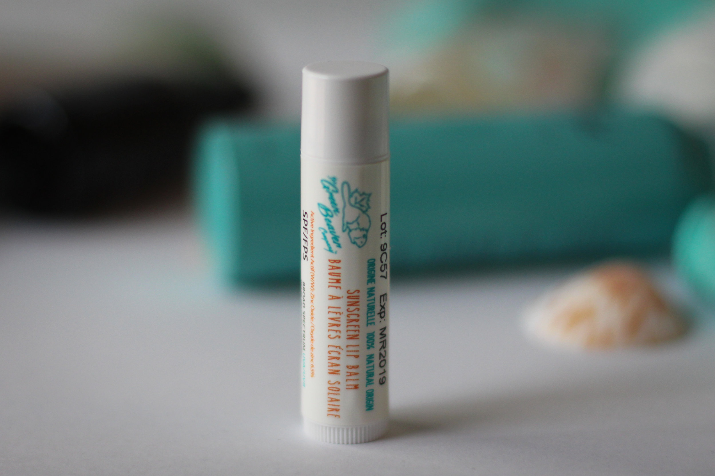 Green Beaver Suncreen Lip Balm