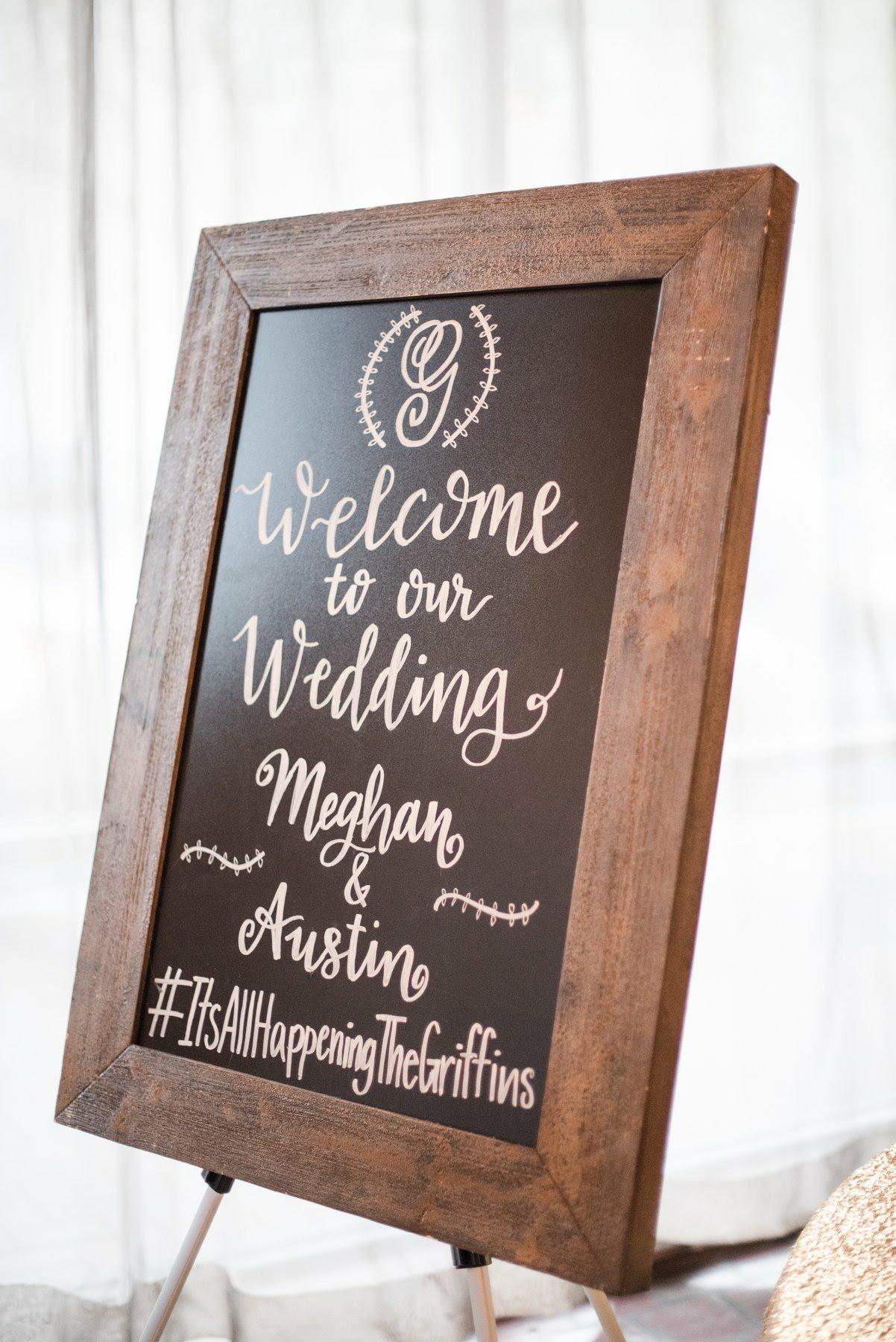 Welcome Griffin Wedding Chalkboard Calligraphy.jpg