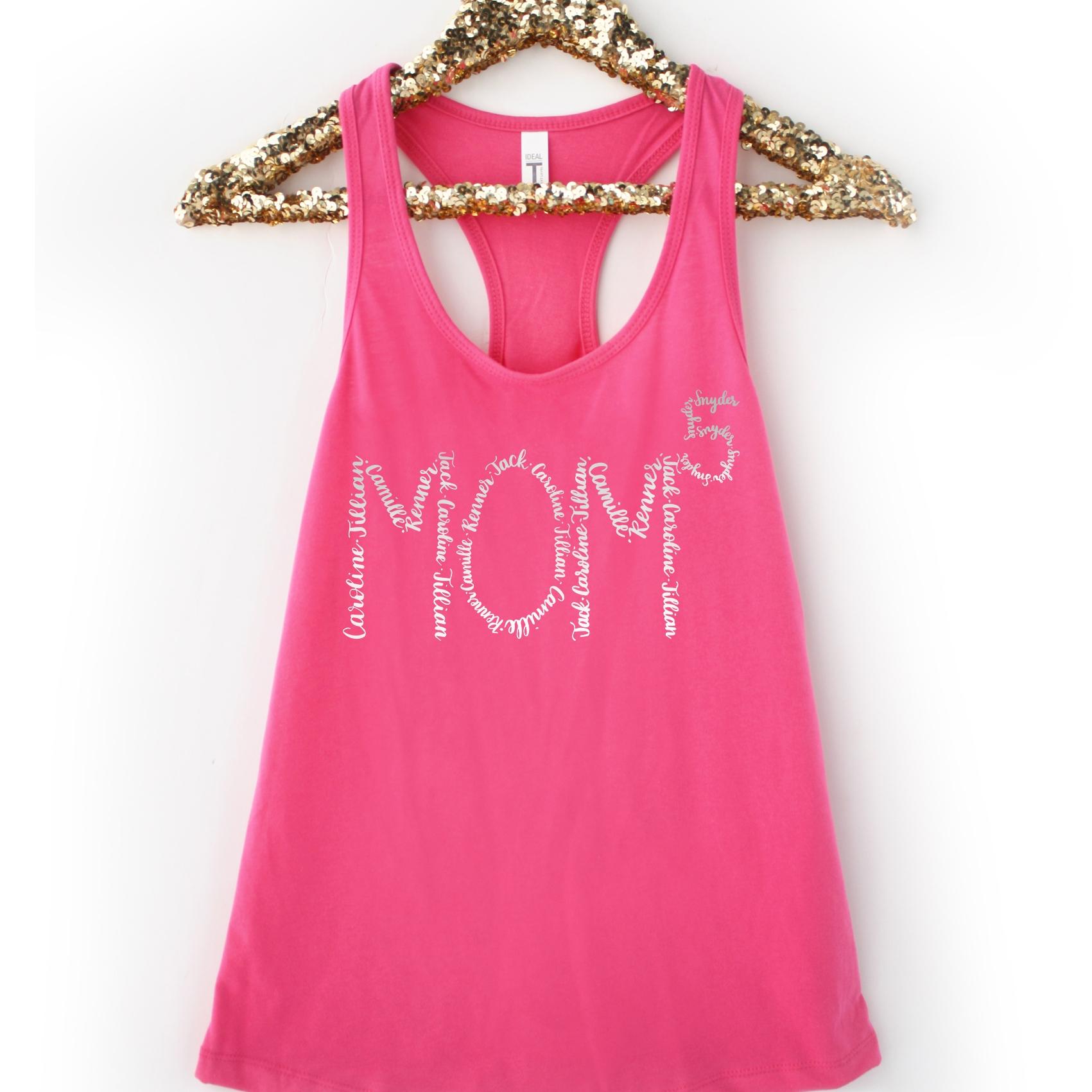 Name Shapes Calligraphy Mom Tank Top.jpg