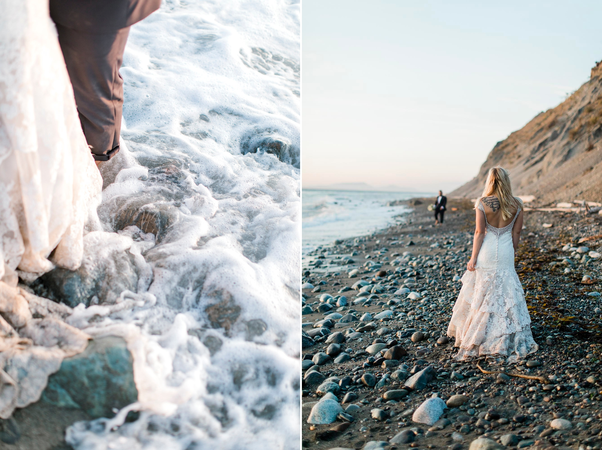Cassandra just might be my favorite bride ever - no fear in getting her dress dirty. I love an adventurous bride!