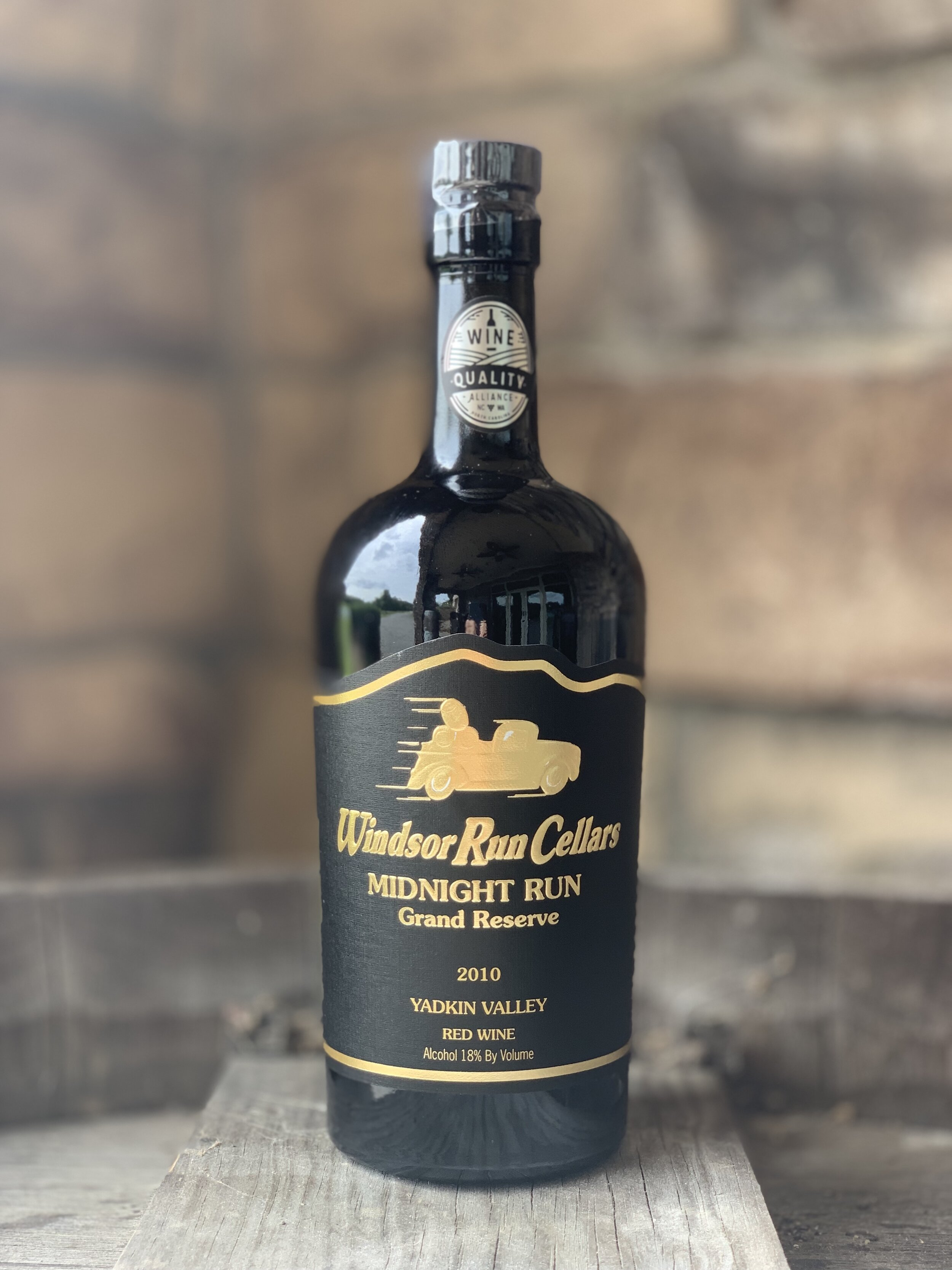 Midnight Run Grand Reserve  Luxurious notes of hot coffee, velvety chocolate and spicy rum cake, with subtle cherry and black current. Aged since 2010. Alcohol 18%  $49