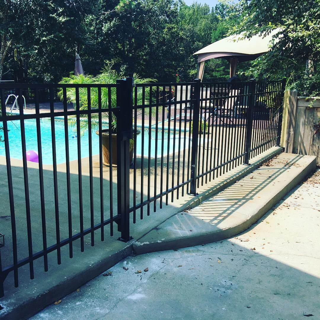 Residential Fencing Portfolio Precision Fence Llc