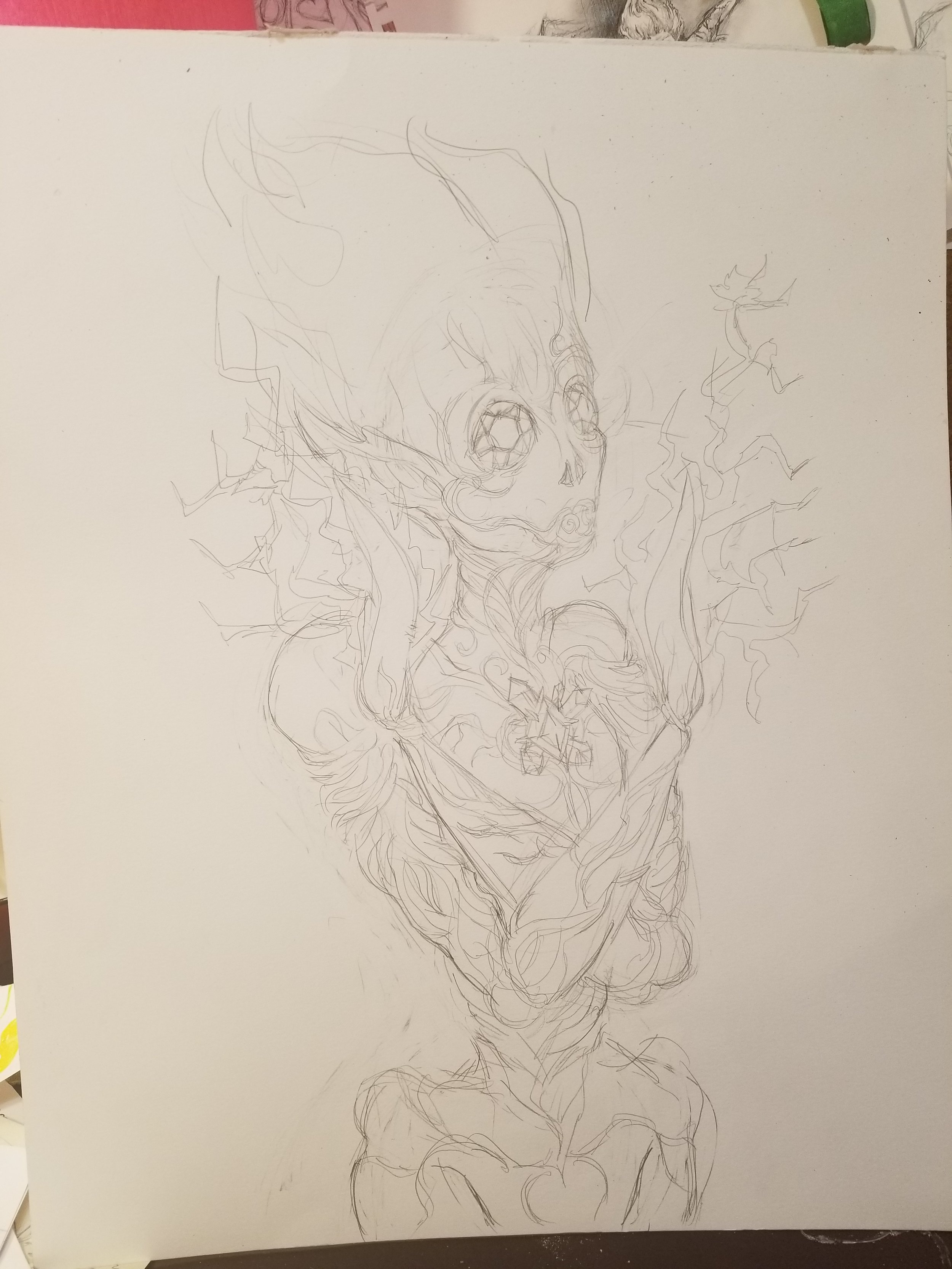The Initial Sketch