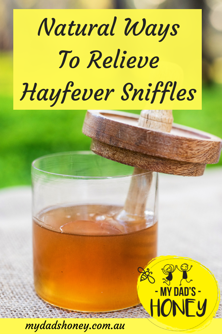 Hayfever Sniffles Relief -My Dad's Honey Blog.png