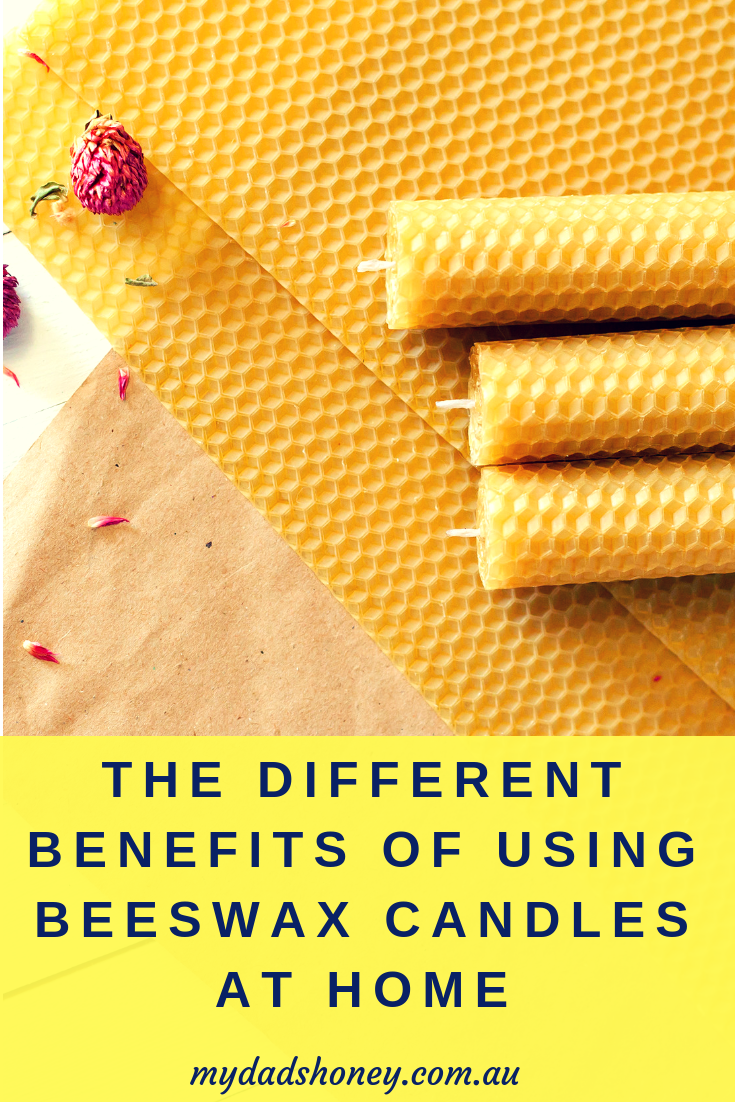 Different Benefits of beeswax Candles - My Dad's Honey Blog