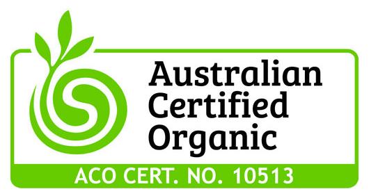 My Dad's Honey ACO Certificate