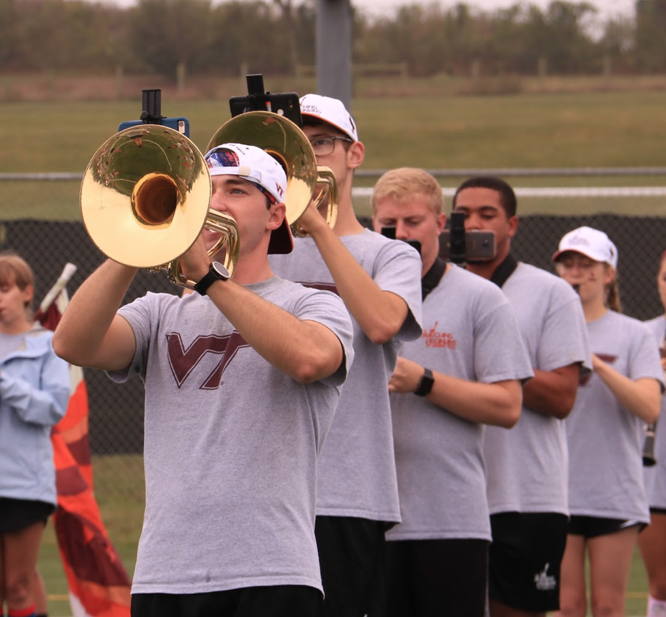 Game Day practices are the MVs final chance to make sure everything is perfect for halftime; Source: Ashley Deans