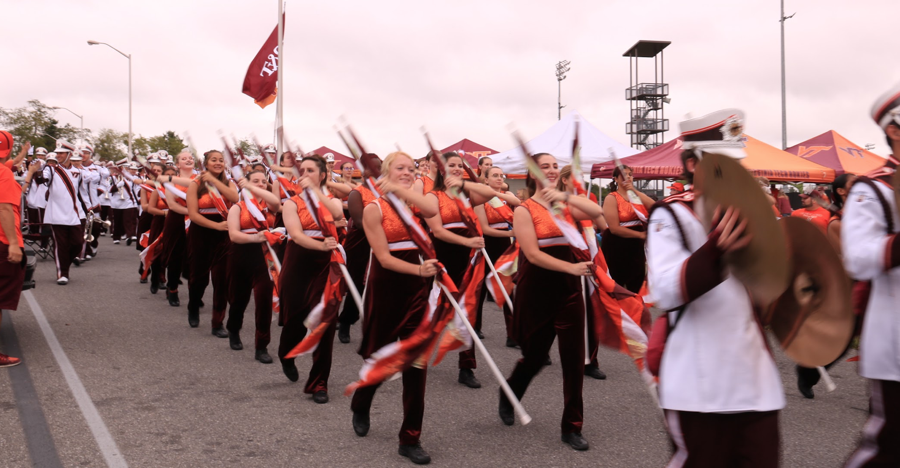 The March to Victory is a great way to get into the game day spirit! Source: Ashley Deans
