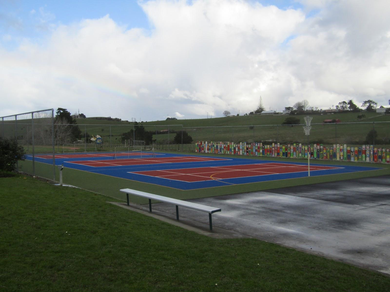 Netball & Basketball Courts