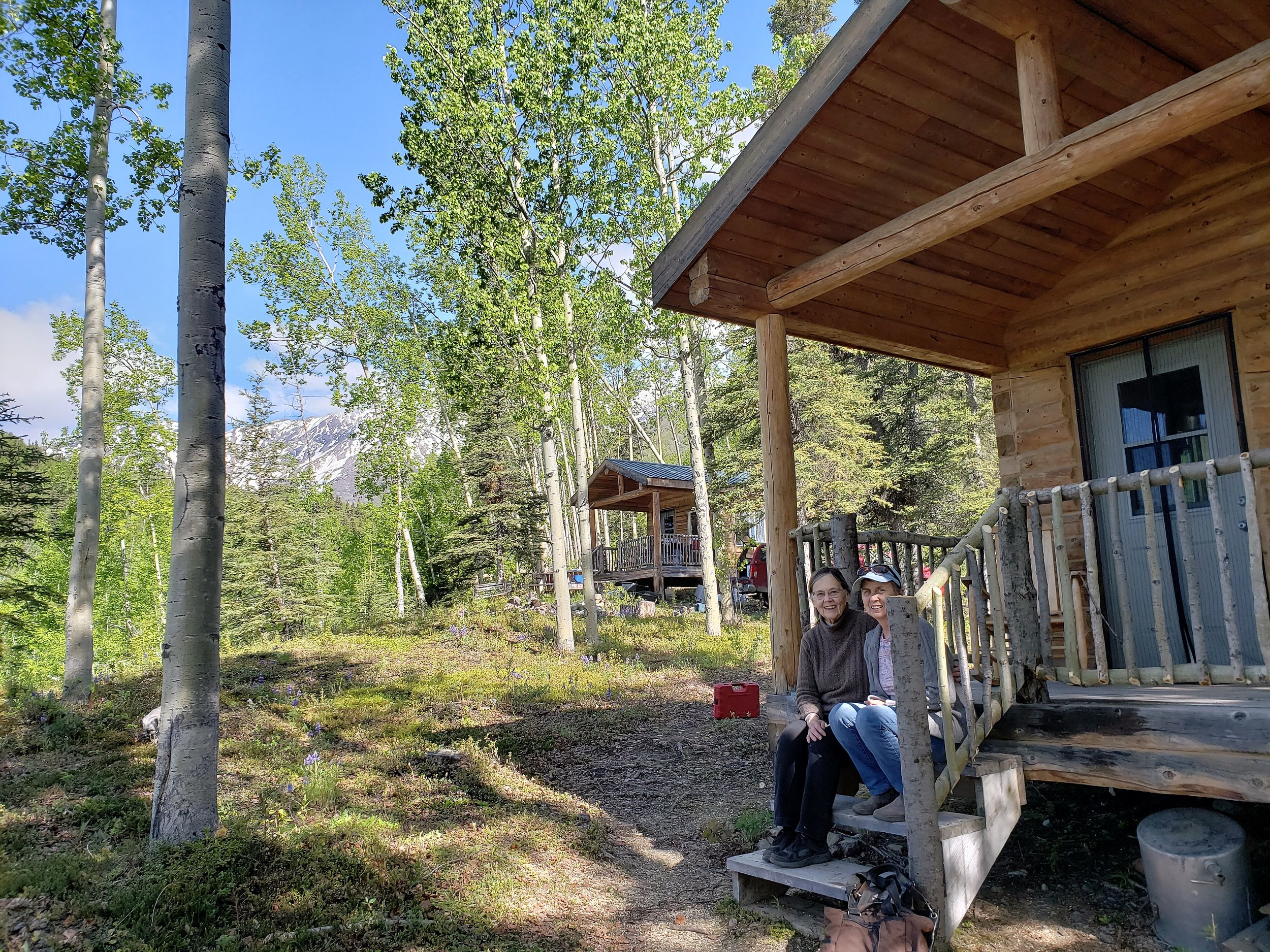 Swift Creek Cabin guests
