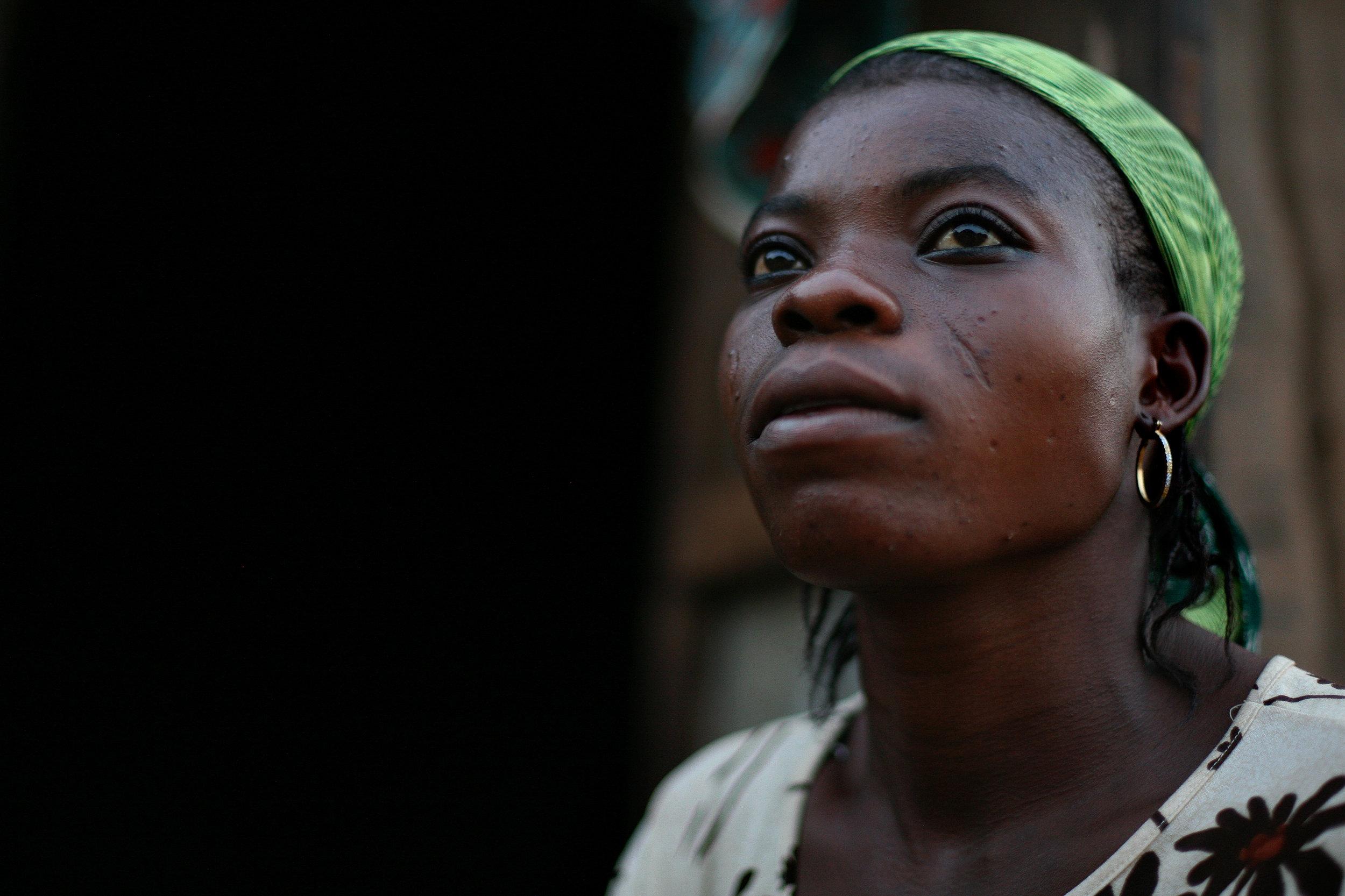 Amariya, in Tampion, Ghana on March 26, 2009.