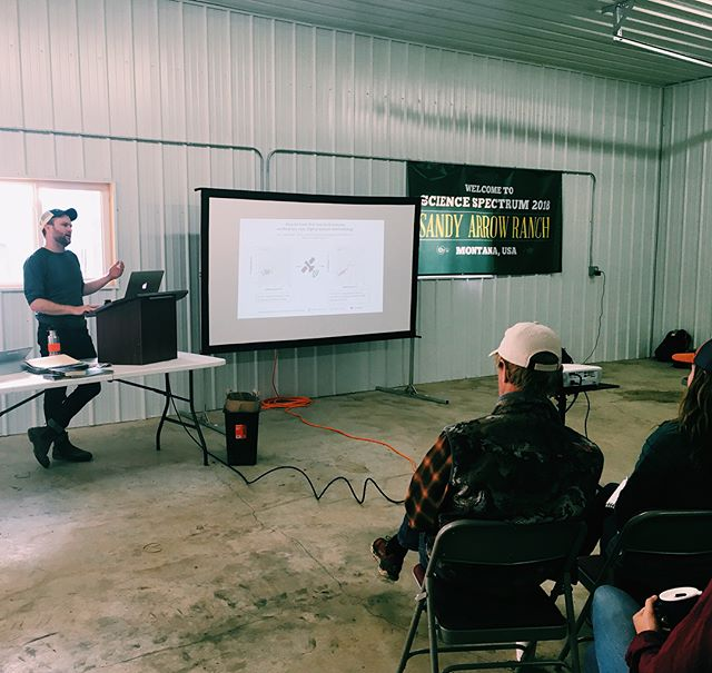 Dan Kane: PhD candidate, Quick Carbon Lead Researcher, and spokesperson extraordinaire! This past week Dan flew to Montana to speak with folks at Sandy Arrow Ranch about Quick Carbon's methodology and ongoing sampling efforts. Dan also spent time out in the field with our field techs, assisting with sampling and, of course, taking in the views! #soilscience #soilcarbon #rangeland #landmanagement