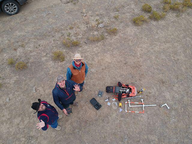 Quick Carbon training November 2018 with rancher Nathan Graves and Plank Stewardship Initiative staff Tris Munsick. #managementmonday #soilhealth #soilscience #landmanagement #quickcarbon