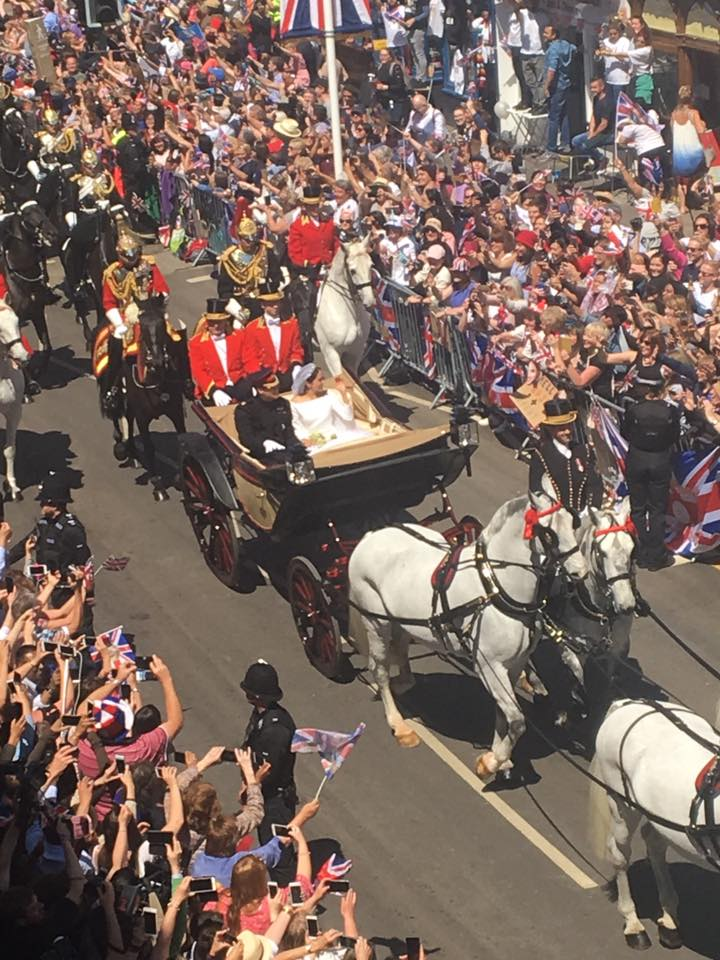 royal wedding parade dress picture prince harry meghan