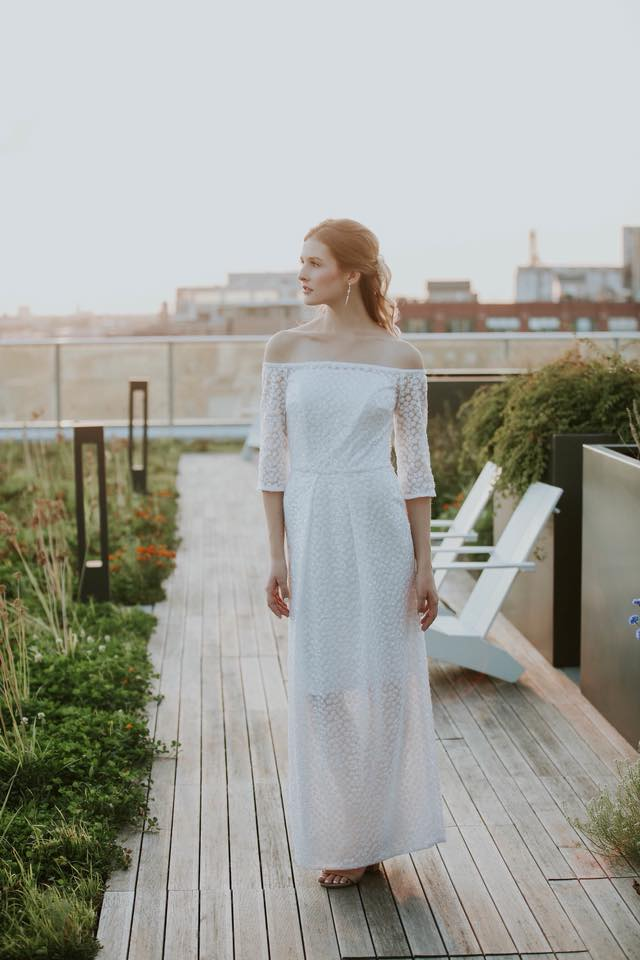 ellie day boho wedding dress