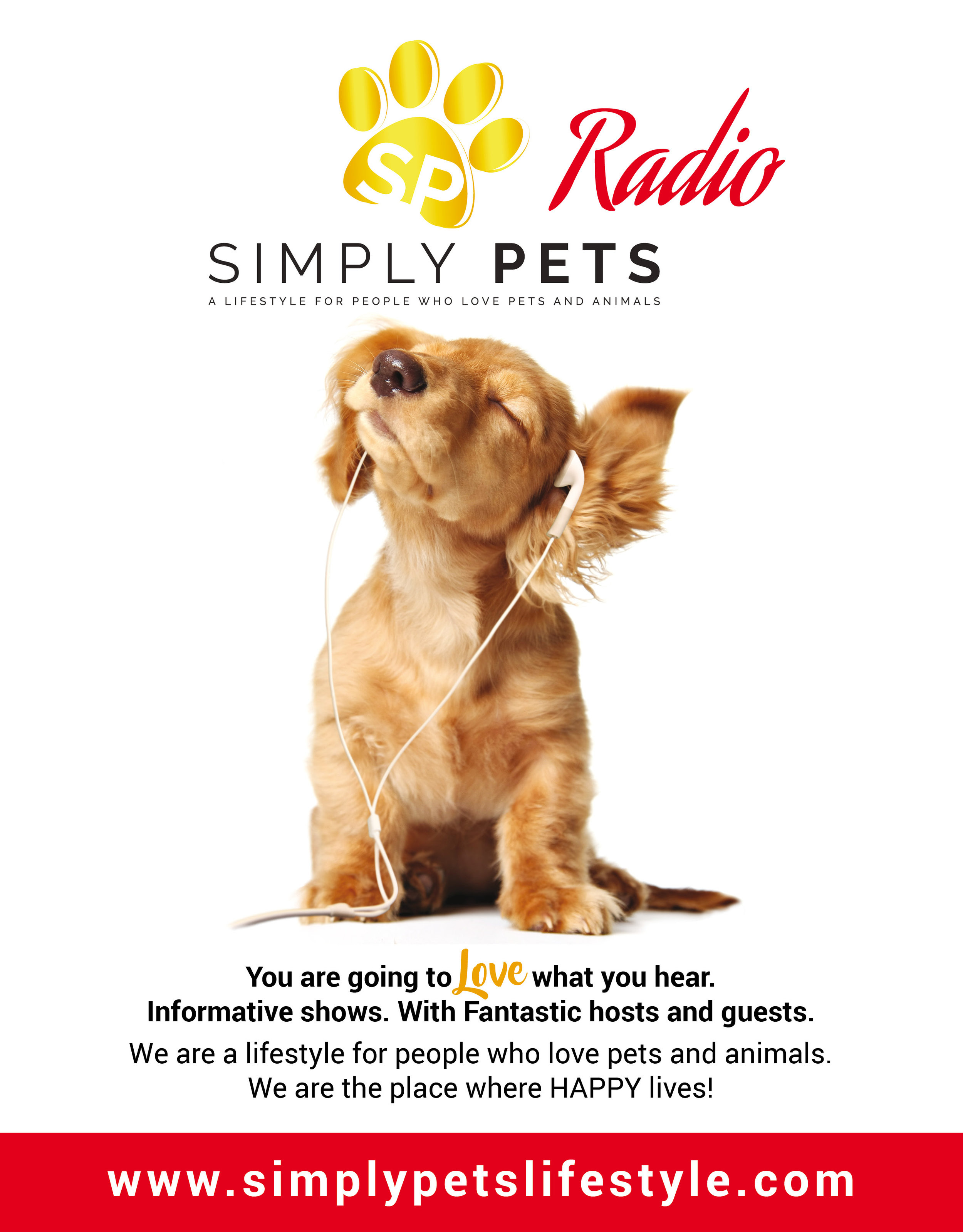 HAPPY lives here…Simply Pets Radio