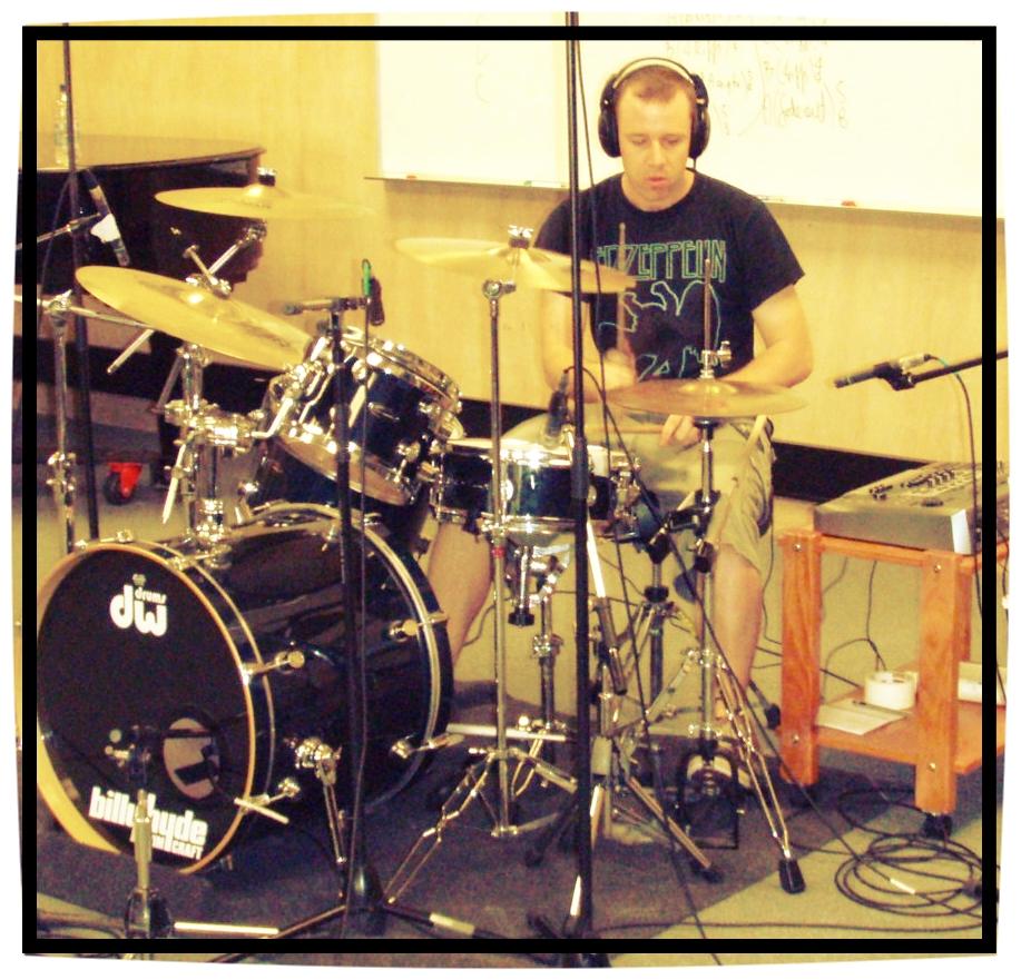 Recording session. QUT. 2008.