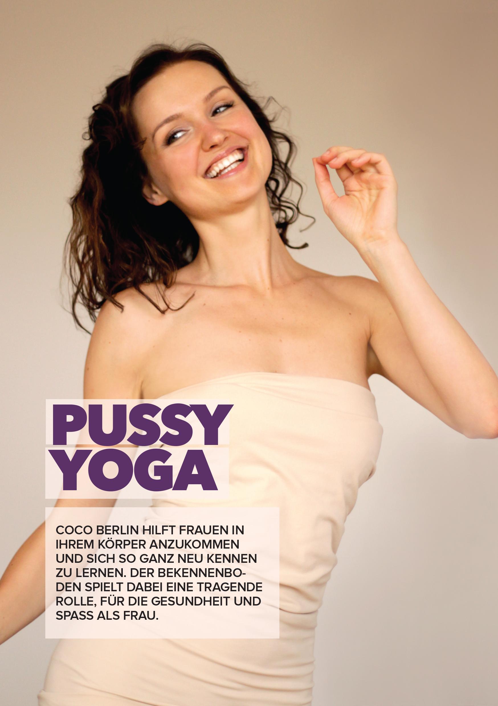 Pussy Yoga: Coco Berlin hilft Frauen in ihrem Körper anzukommen. Dein Beckenboden spielt eine tragende Rolle.