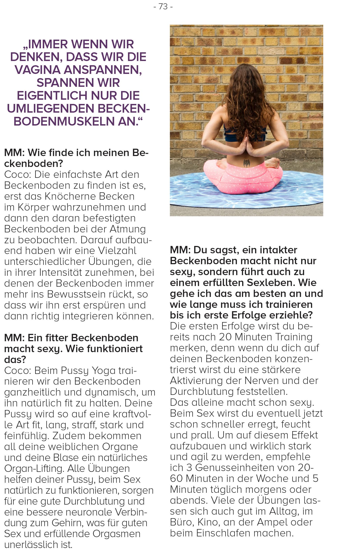 Coco Berlin: Pussy Yoga