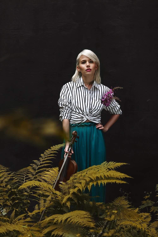 Musiker Julie Alapnes, foto: Eivind Hansen