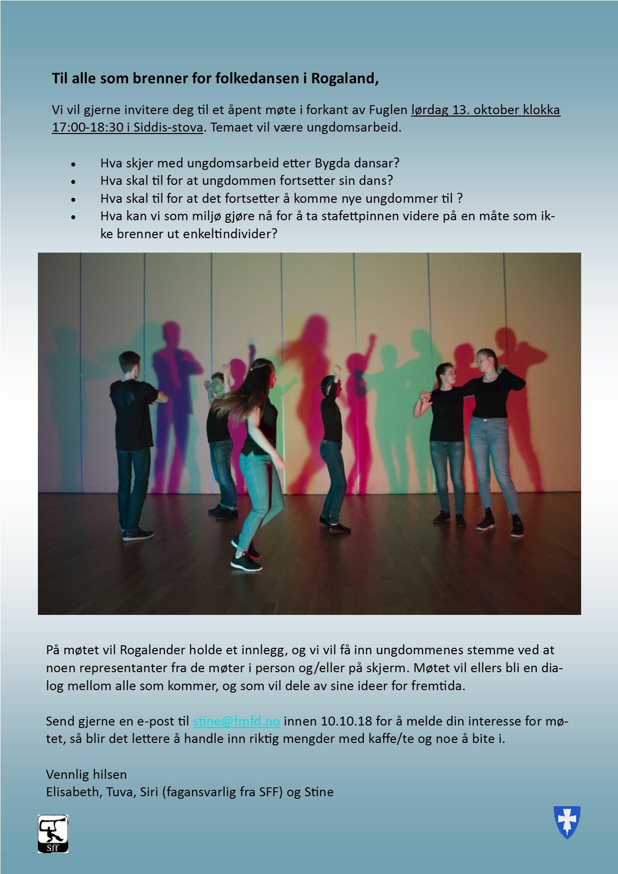 Invitasjon til åpent møte om ungdomsarbeid i folkedansen i Rogaland.jpg