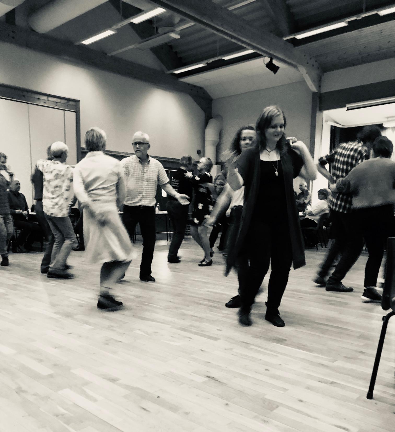 Dansegulvet på Fuglen 13. oktober 2018
